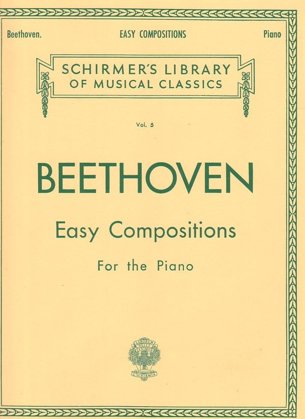 L. v. Beethoven - Easy Compositions Vo. 5