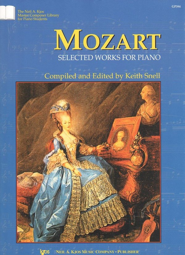 Mozart – Selected Works for Piano
