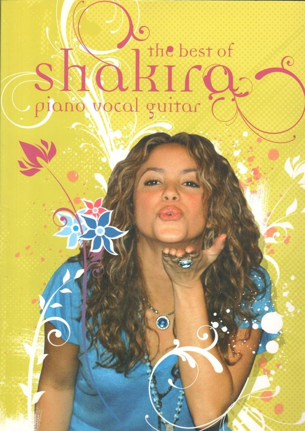 The best of Shakira – Piano, Vocal, Guitar