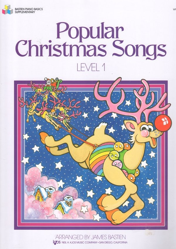 Popular Christmas Songs- Level 1