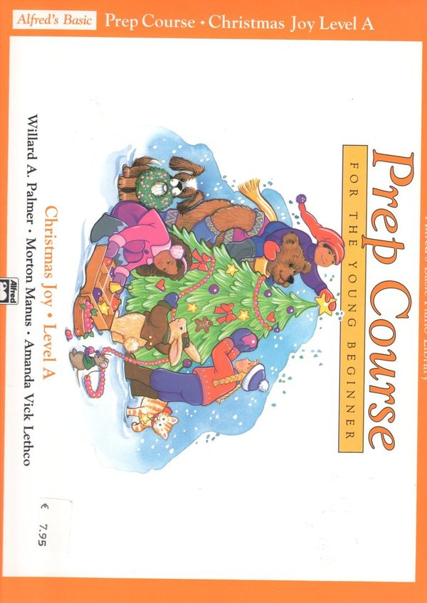 Prep Course- Christmas Joy for the young Beginner